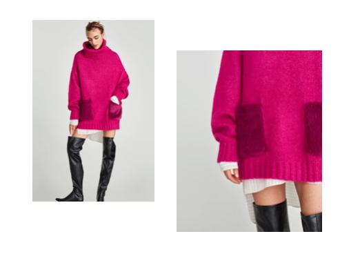 zara różowy sweter.jpg