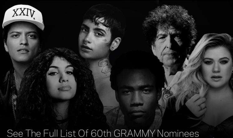 Nominacje do nagród Grammy 2018.jpg