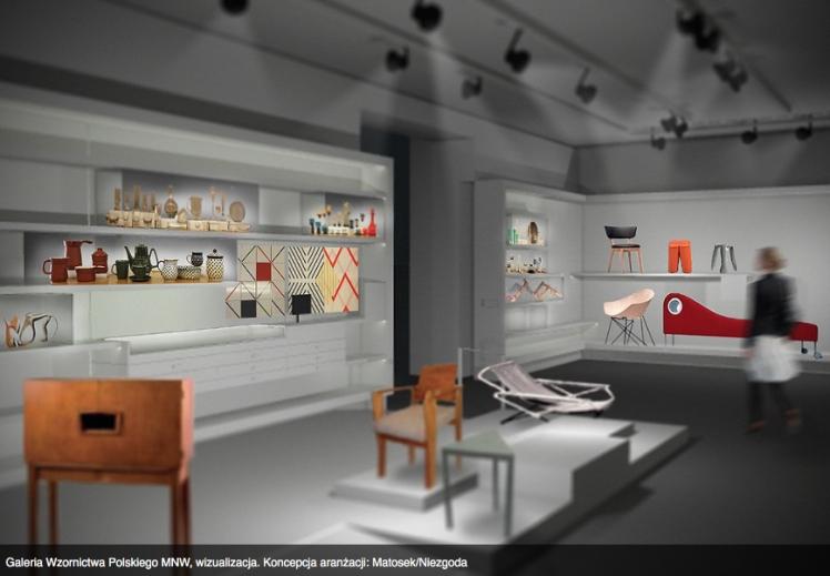 Galeria Wzornictwa Polskiego MNW: wizualizacja .jpg