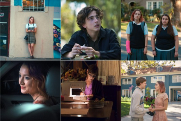 Lady Bird: film: rec