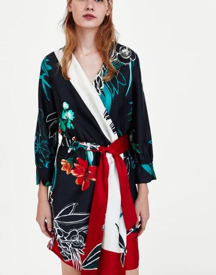 kimonowa sukienka Zara: ss18.jpg