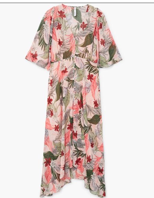 sukienka w egzotyczne kwiaty: mango: ss18.jpg