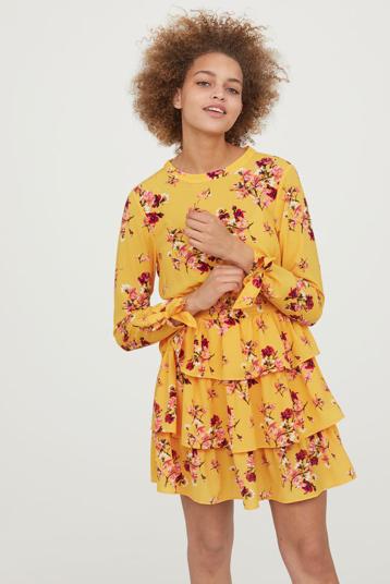 Sukienka w kwaity: H&M: ss18.jpg