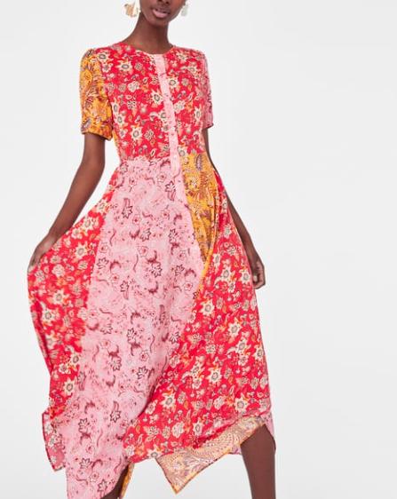 sukienka zara: kwiaty: ss18.jpg