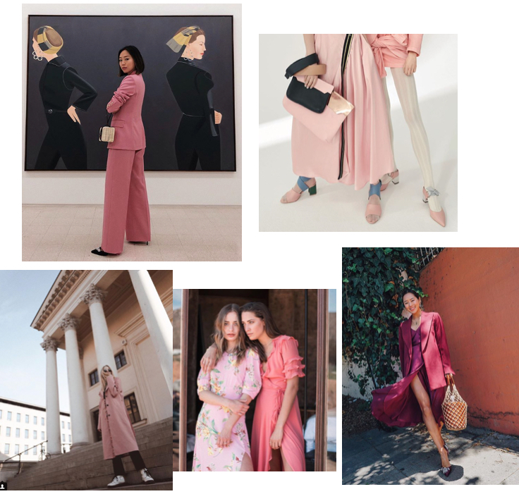Róż: stylizacje blogerek: moda 2018.jpg