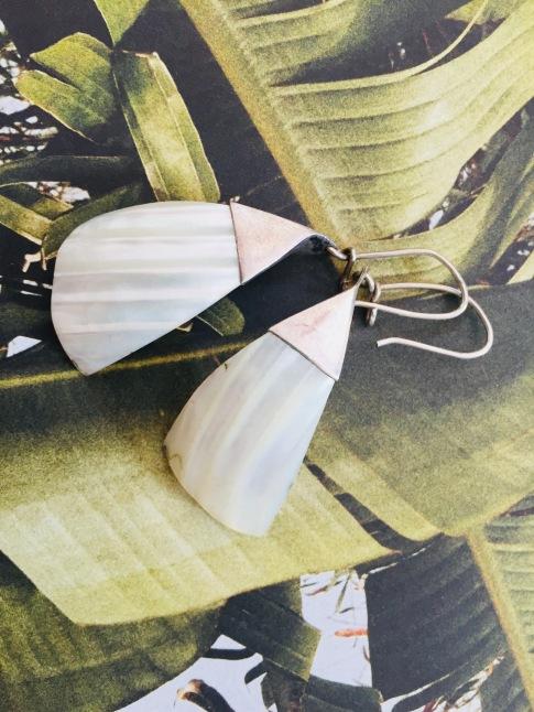 kolczyki z masą perłową: Węgry: vintage.jpg