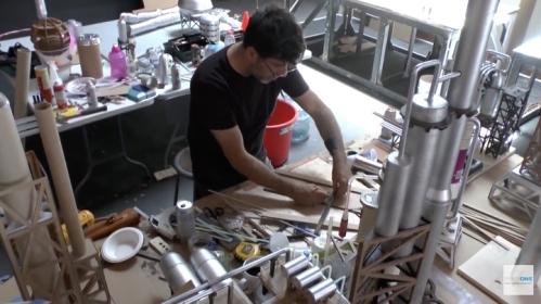 La Chapelle: tworzenie makiety Land Scape.jpg