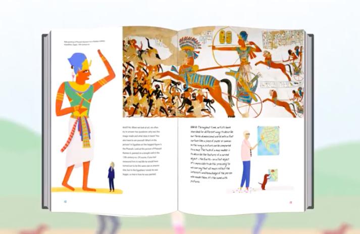 Historia obrazów dla dzieci: Guyford: Hockney.jpg
