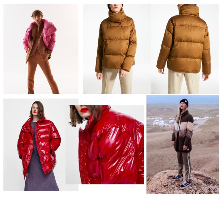 Kurtki puchówki: shopping: jesień zima 18: MMC: MaxMara: Zara: Femistories.jpg